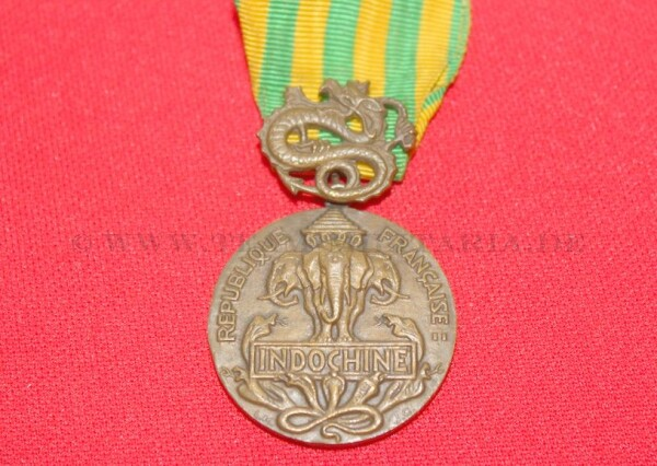 Orden Medaille Militaire en Bronze par ML JC INDOCHINE