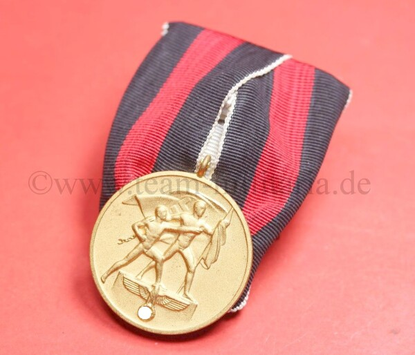 Medaille 1.Oktober Sudetenland   - MINT CONDITION