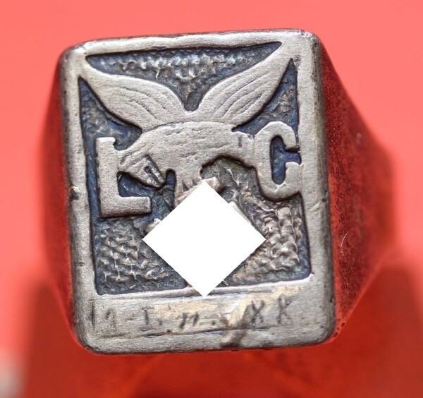 Fingerring der Legion Condor Luftwaffe