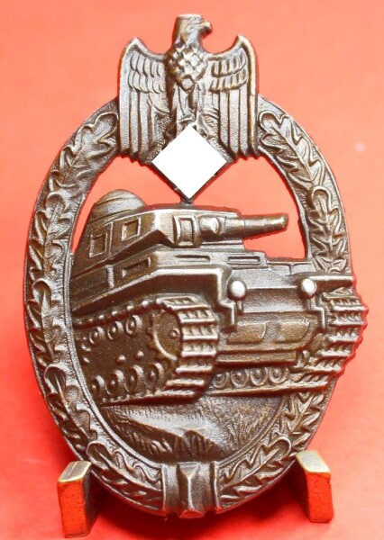 Panzerkampfabzeichen in Bronze - MINT CONDITION